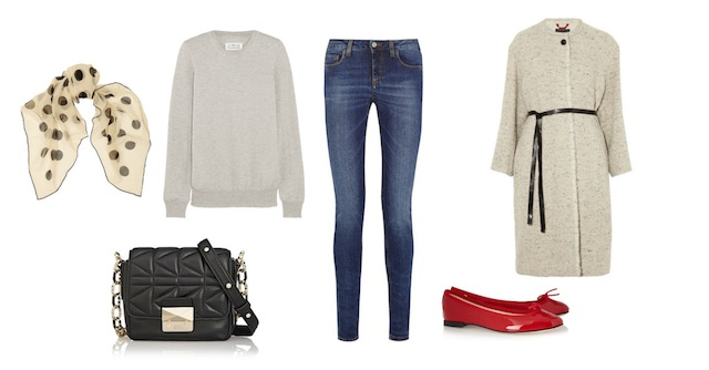 The basics of a wardrobe # 1 JEANS look 2