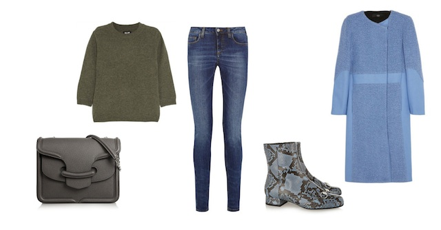 The basics of a wardrobe # 1 JEANS look 4