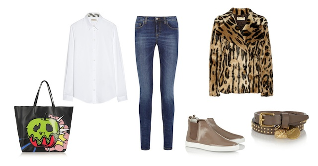 The basics of a wardrobe # 1 JEANS look 5