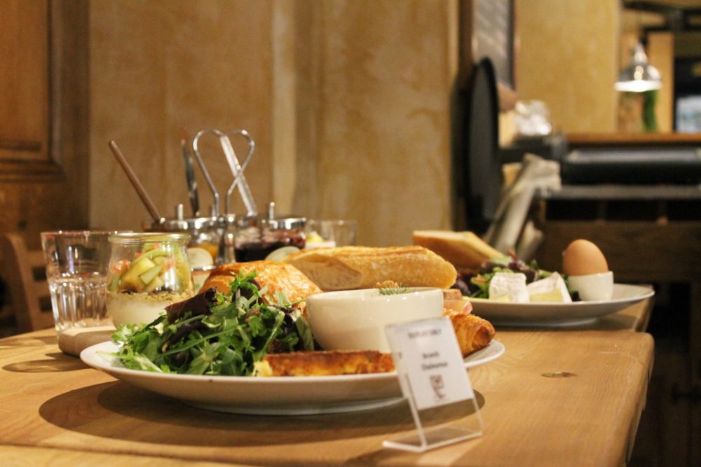 Le Pain Quotidien Saint-Lazare - Brunch