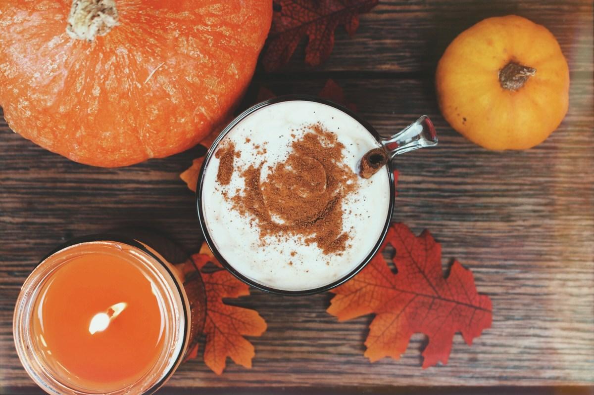 Recette automnale : Le Pumpkin Spice Latte (vegan)