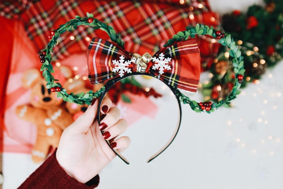 DIY : Des oreilles de Minnie pour Noël