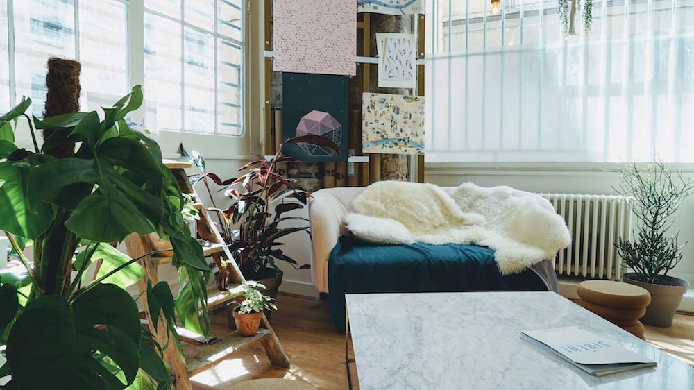 décoration canapé chez hyppairs