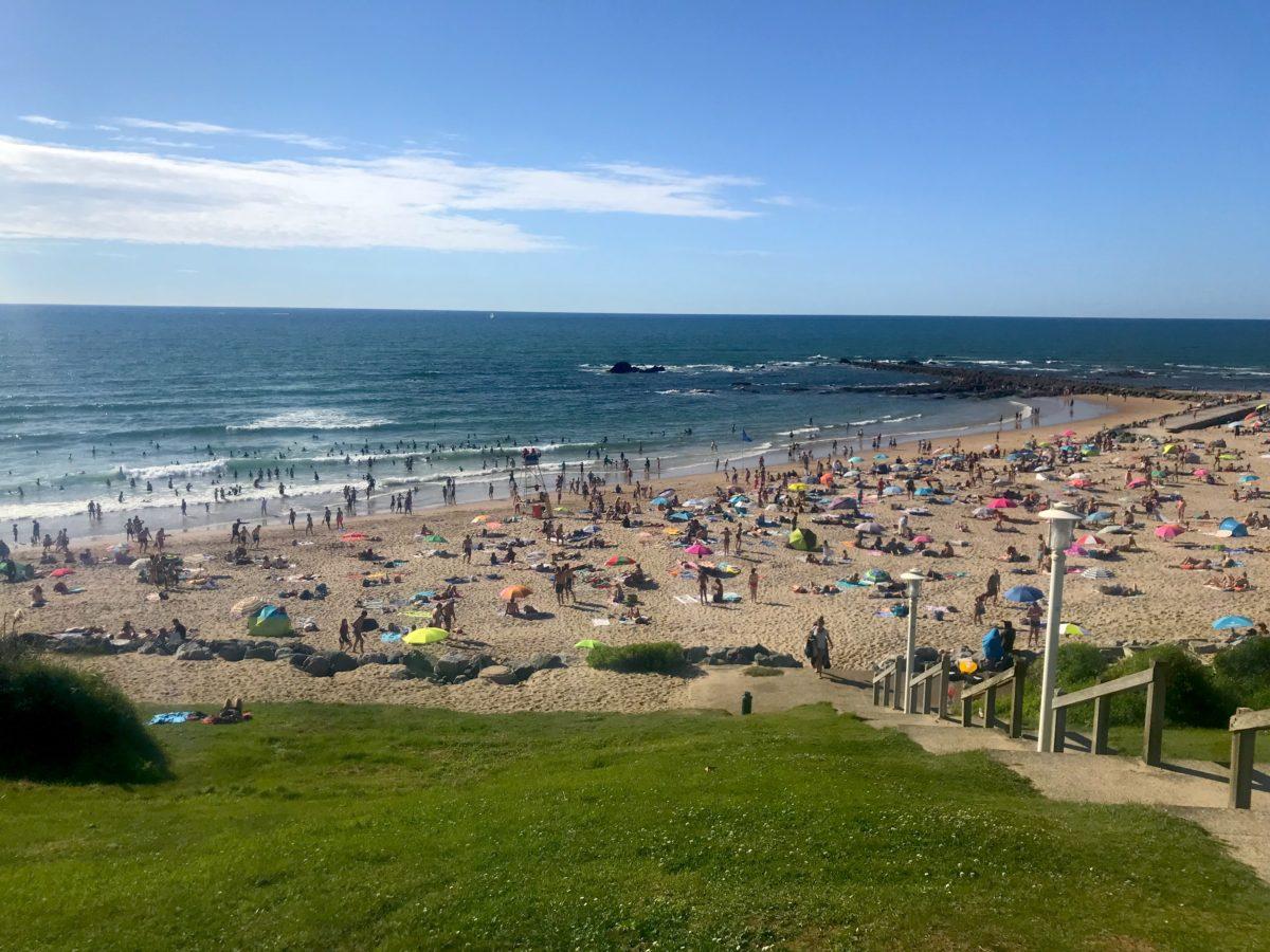La plage Milady de Biarritz