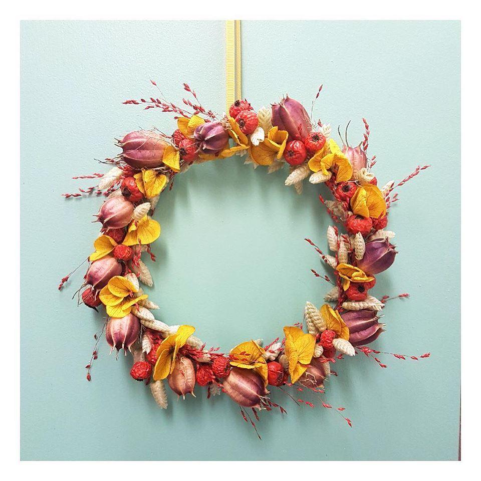cadeau made in lyon couronne de fleurs pimpantes