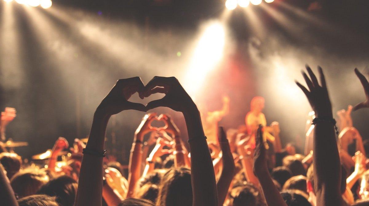 theme du mois la musique photo d'un concert a lyon