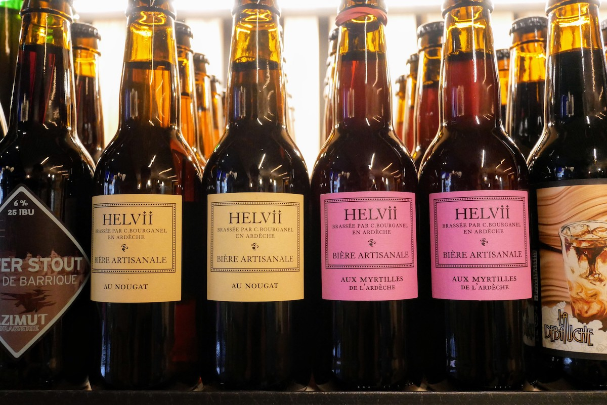 bieres au nougat de la brasserie helvii