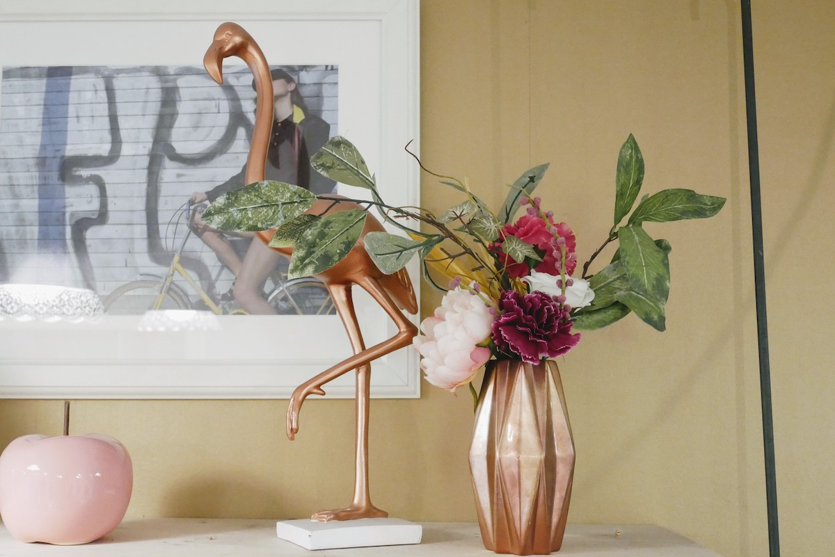 décoration flamand rose