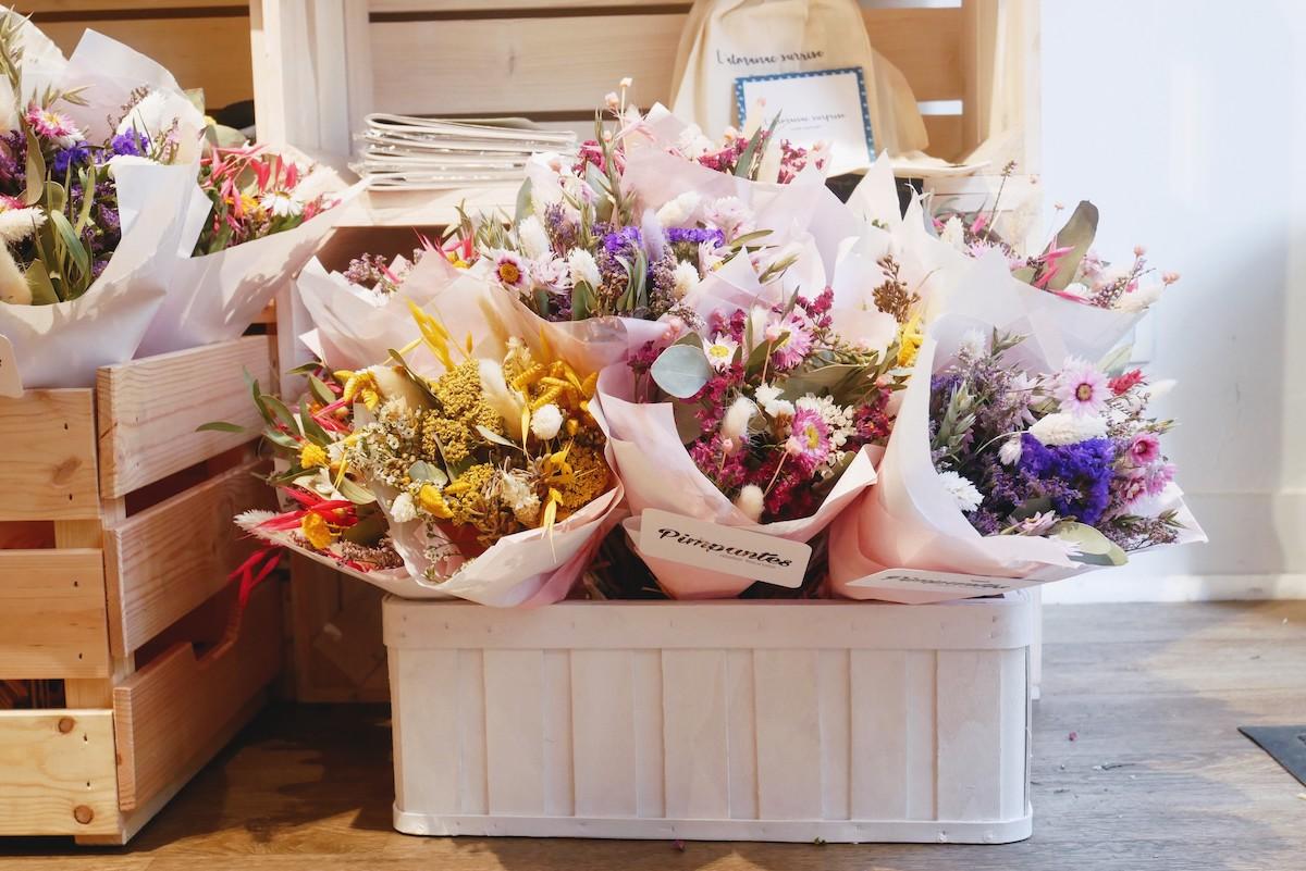 bohmen fleurs sechées
