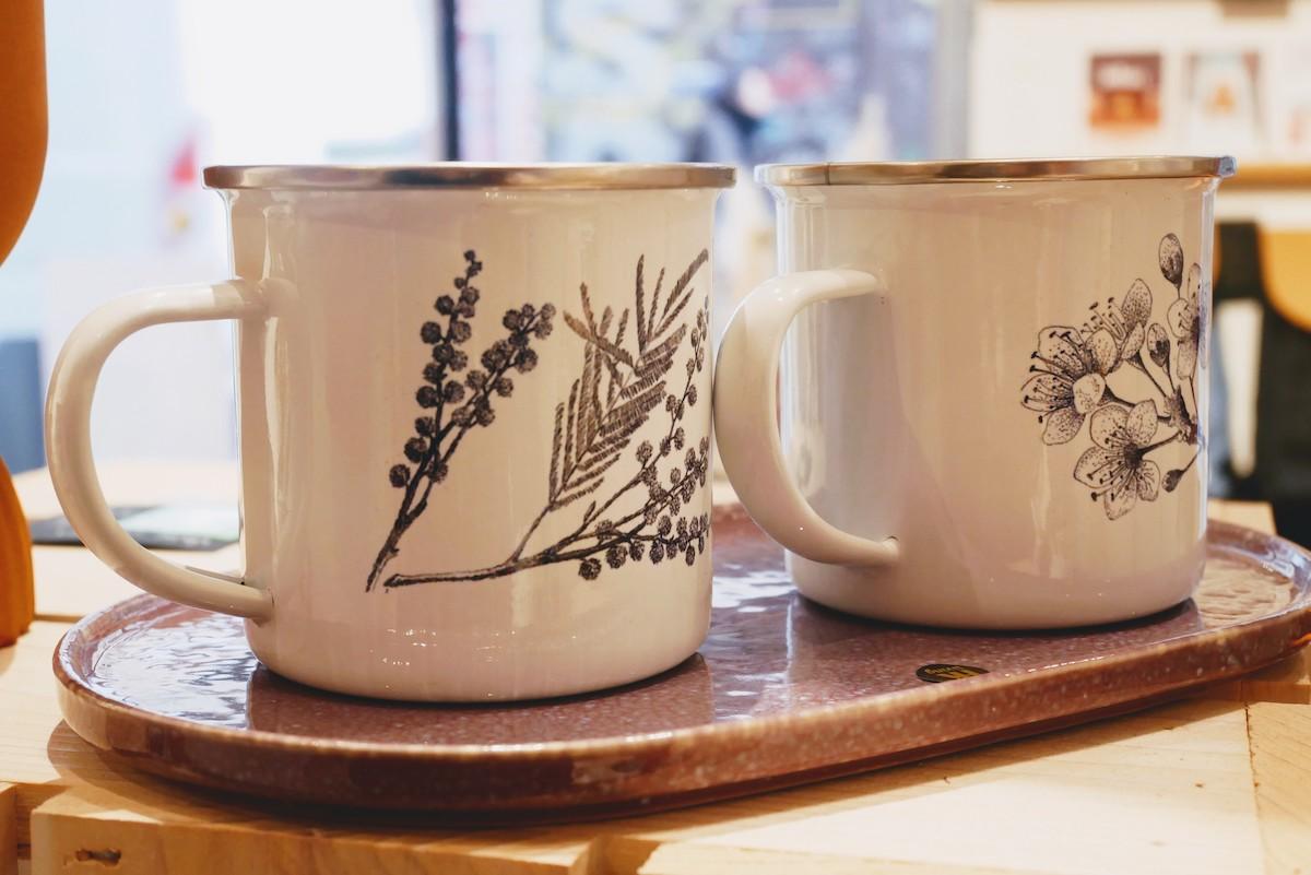 tasses a café imprimées