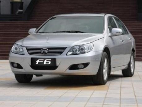 BYD F6 sedan
