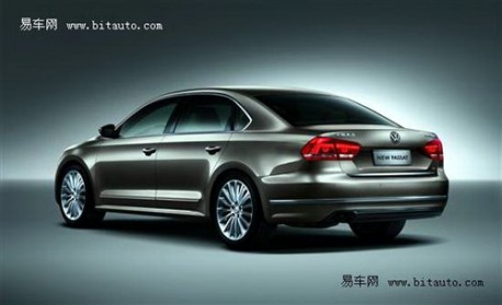 Shanghai-Volkswagen New Passat China