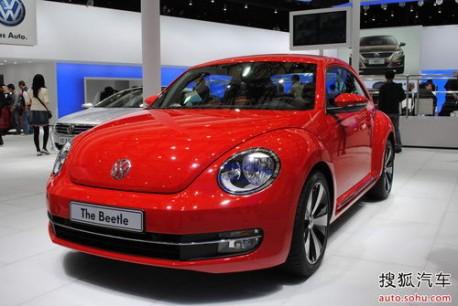 Volkswagen Beetle China