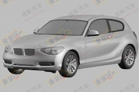New BMW 1-Series 3-door leaked in China