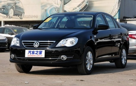 Volkswagen New Bora China