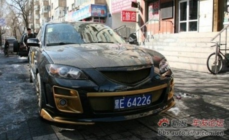 Extreme Tuning from China: Mazda 3 sedan