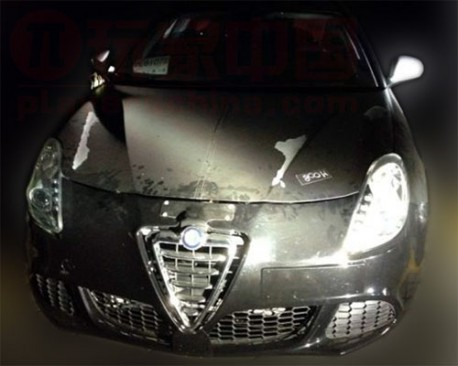 Alfa Romeo Giulietta testing in China