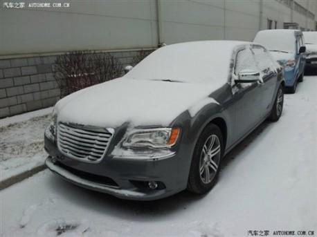Chrysler 300C testing in China