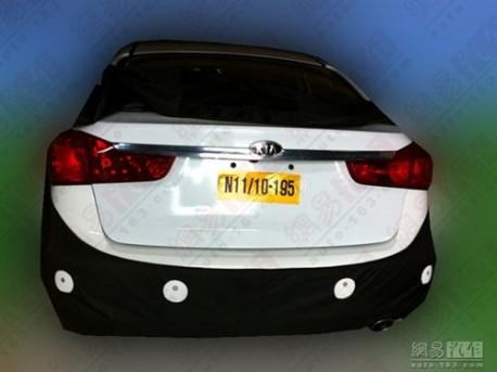 New Kia K3 sedan