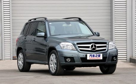 Mercedes-Benz GLK China