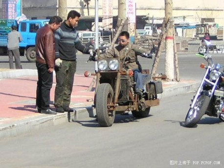 Terminator motorbike from China
