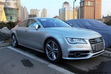Audi S7 China