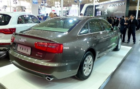 New Audi A6L debuts in Beijing