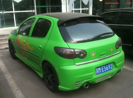 Citroen C2 from China