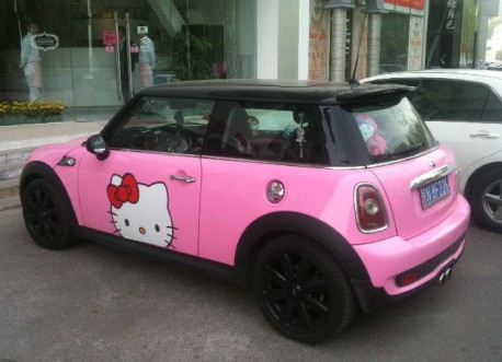 Pink Hello Kitty Mini