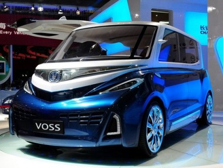 Chang'an Voss testing in China