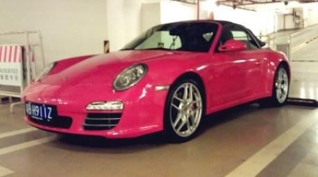 Pink Porsche & Ferrari