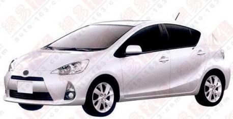 Toyota Prius C China