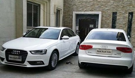 new Audi A4L gets Quattro in China
