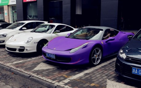 Ferrari & Porsche in China