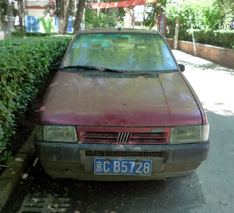 Spotted in China: Fiat Uno
