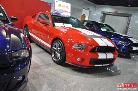 ford Mustang China