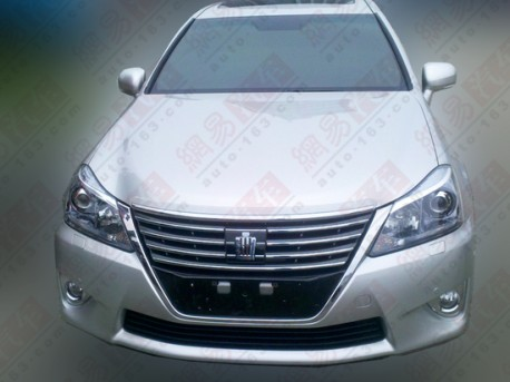 facelifted Toyota Crown is ready in China