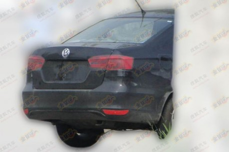 new Volkswagen Santana testing in China