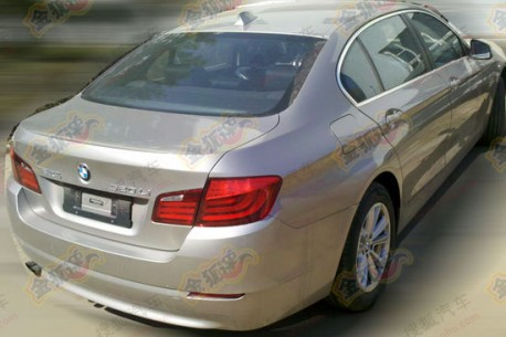 BMW 5Li 2.0 Turbo testing in China