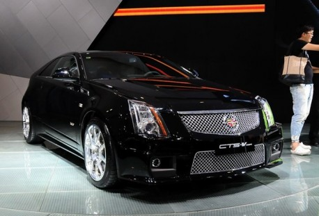Cadillac CTS-V Coupe launched in China