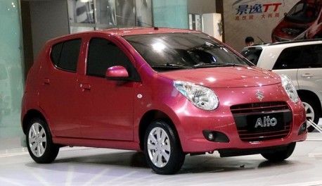 facelift for the Suzuki Alto in China