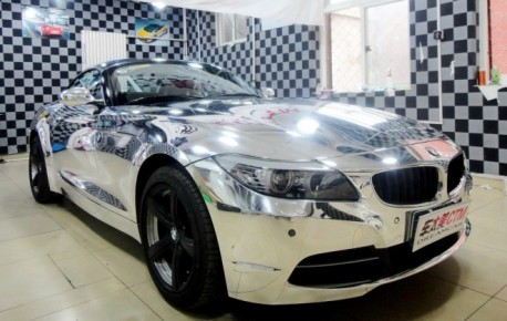 BMW Z4 goes Bling in China