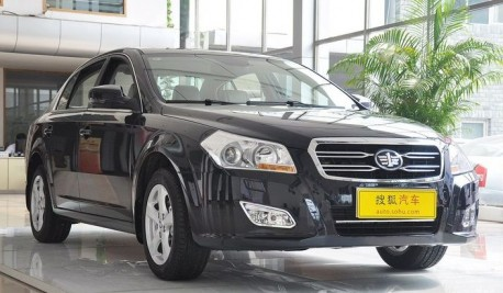 facelifted FAW-Besturn B70