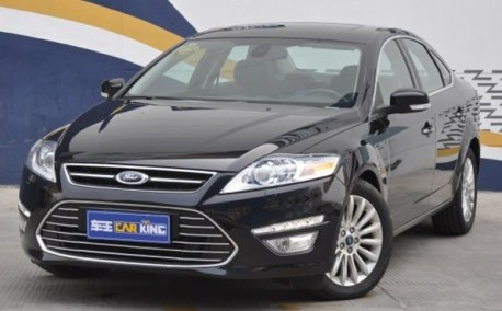 new Ford Mondeo gets Ready for the Chinese auto market