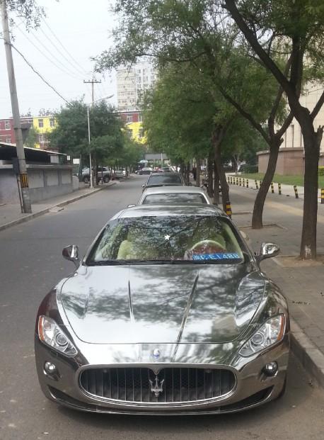 Maserati GT in Chrome in China