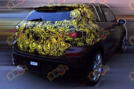 Spy Shots: Mini Paceman testing in China