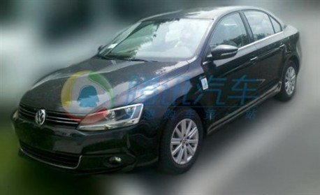 Volkswagen Sagitar Blue Motion testing in China