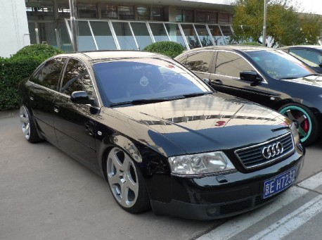Audi A6 is a lowrider in China