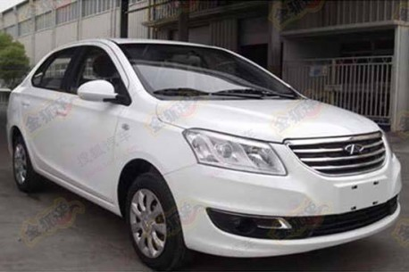 Chery A19 is Naked in China