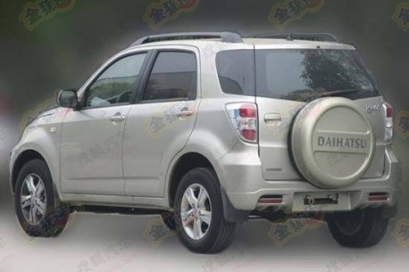 Spy Shots: the Daihatsu Terios returns to China